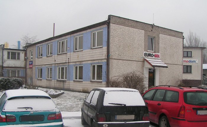 modernization of office building / realisation 2009 / location Żory / floor area - 330 m<sup>2</sup>